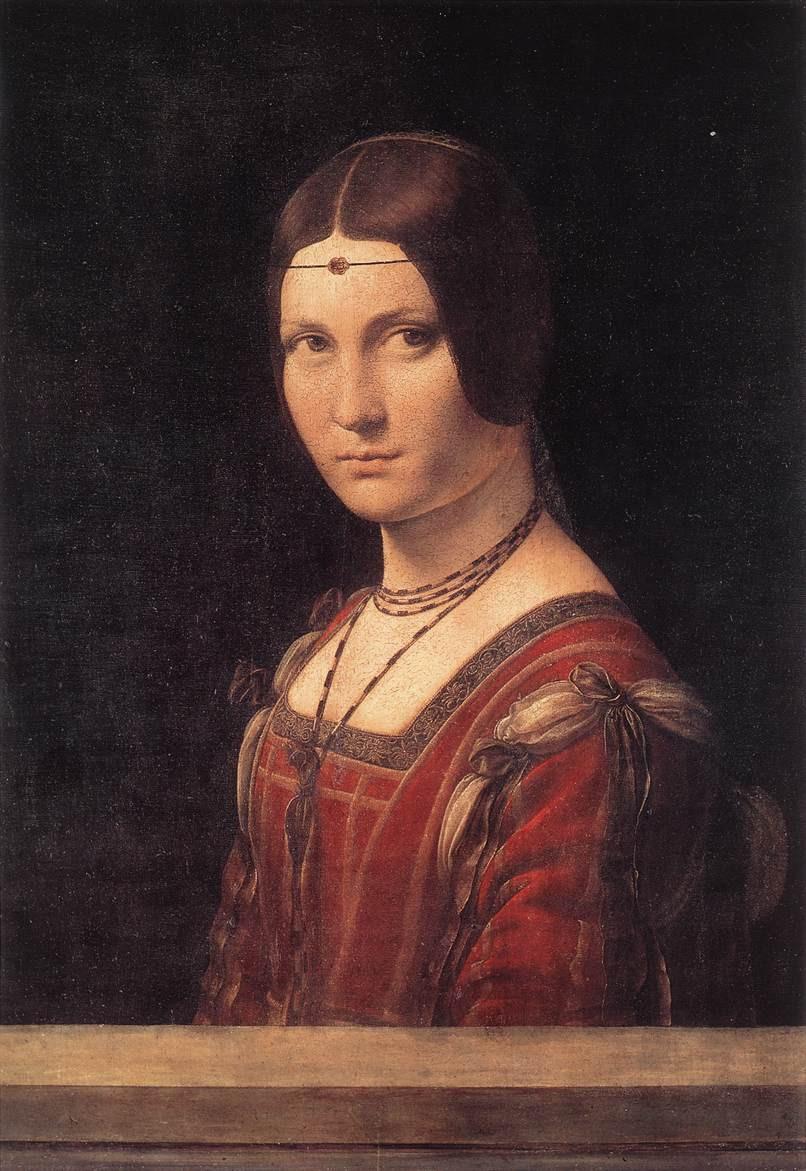 Leonardo da Vinci La belle Ferroniere